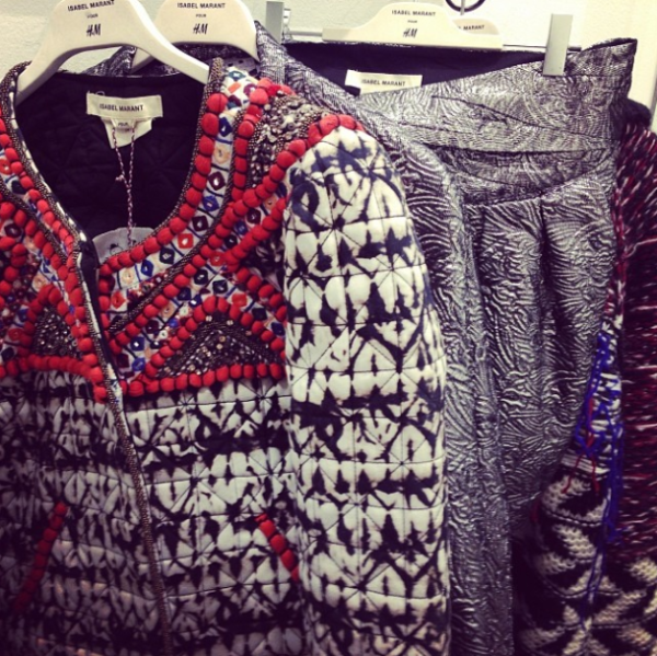 ISABEL MARANT POUR H&M AND OTHER INSTA-GOWNS