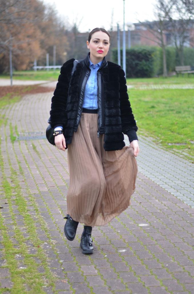 online retailer 0a7f1 dfa20 Gonna e stivali bassi per l'inverno - Melissa Cabrini