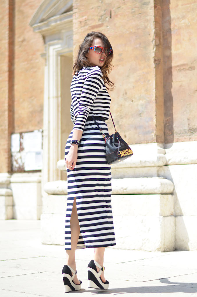 STRIPED TOTAL LOOK